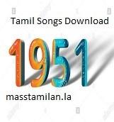 1951 Tamil Album Songs