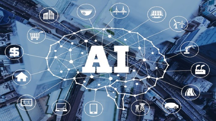 Artificial intelligence is integrally related to many business functions poster
