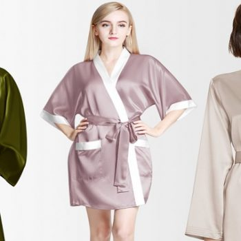 Consider the Following When Purchasing a Silk Robe